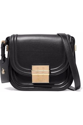 LANVIN Embellished leather shoulder bag