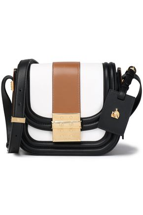LANVIN Color-block leather shoulder bag