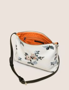 ARMANI EXCHANGE CROSS-STITCH FLORAL PRINTED SHOULDER BAG Crossbody bag Woman d