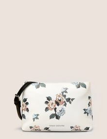 ARMANI EXCHANGE CROSS-STITCH FLORAL PRINTED SHOULDER BAG Crossbody bag Woman f