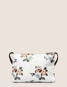 ARMANI EXCHANGE CROSS-STITCH FLORAL PRINTED SHOULDER BAG Crossbody bag Woman r