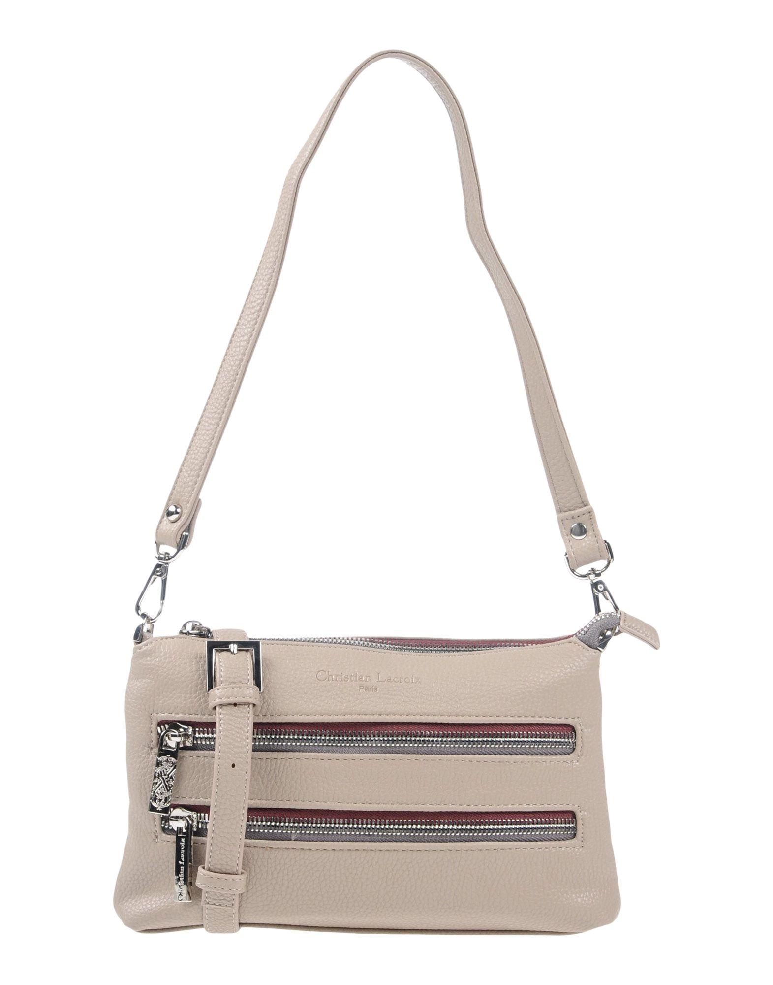 CHRISTIAN LACROIX Shoulder Bag in Light Grey