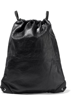 ALEXANDER WANG Crinkled-leather backpack