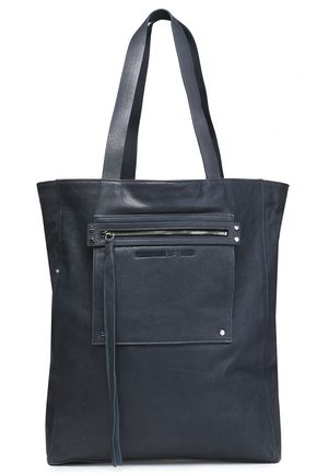 McQ Alexander McQueen Loveless brushed-leather tote