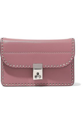 VALENTINO GARAVANI Rockstud mini leather shoulder bag