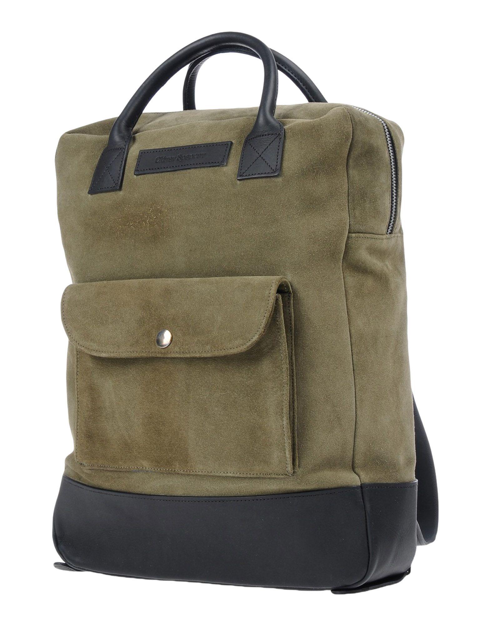OLIVER SPENCER Рюкзаки и сумки на пояс oliver l before i fall