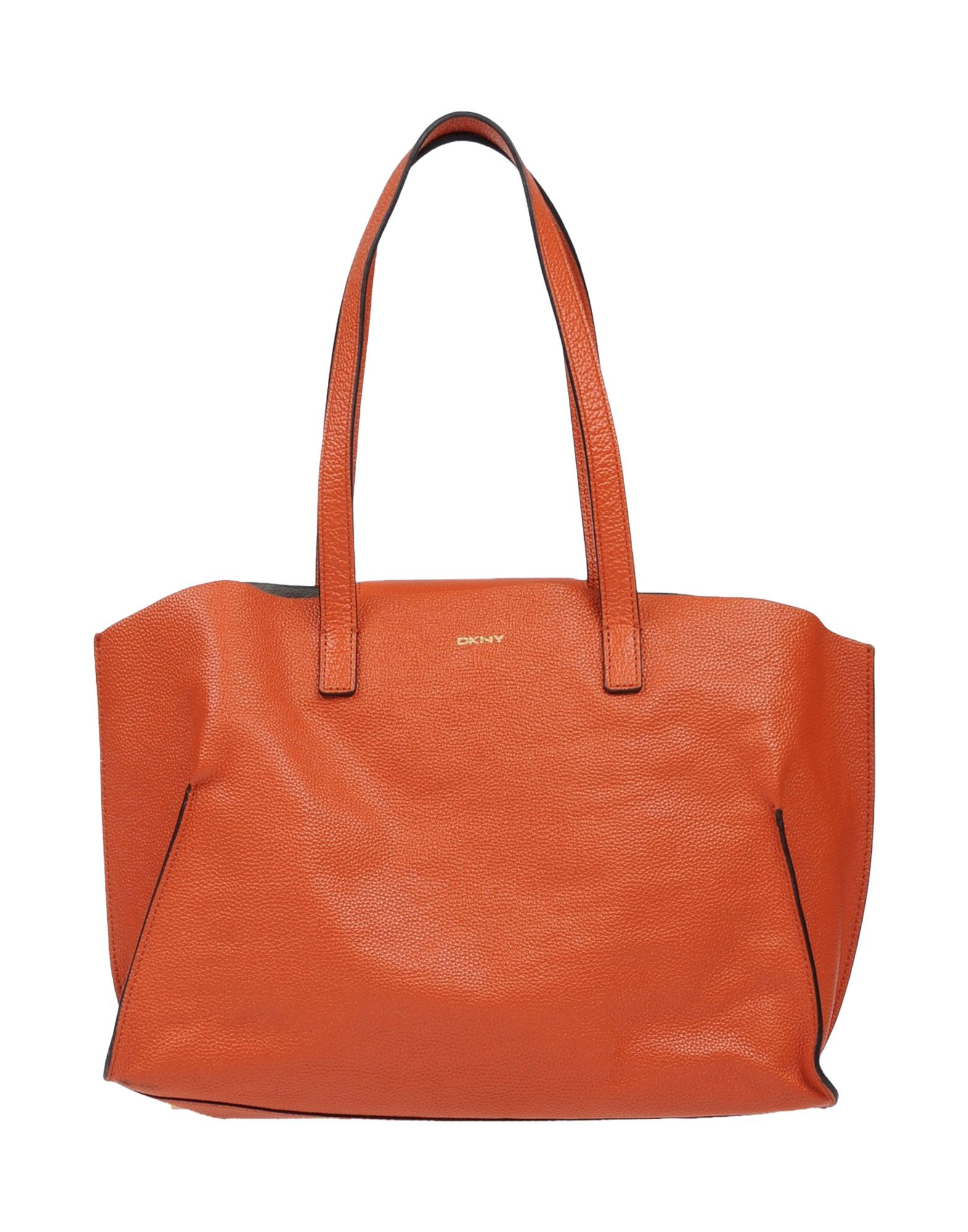 DKNY レディース ハンドバッグ オレンジ 牛革