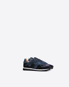 CAMOUFLAGE STUDDED TRAINER
