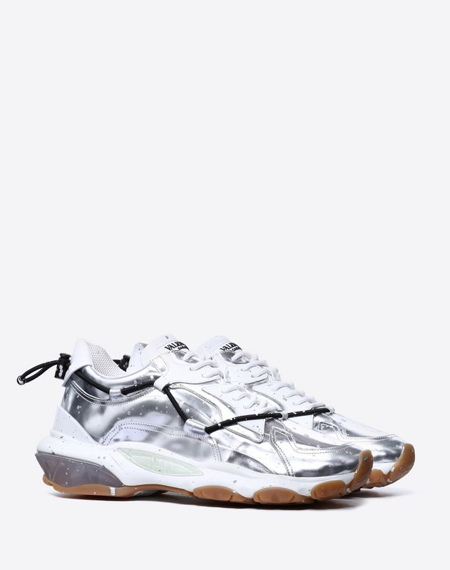 Metallic Hand Painted Bounce sneaker