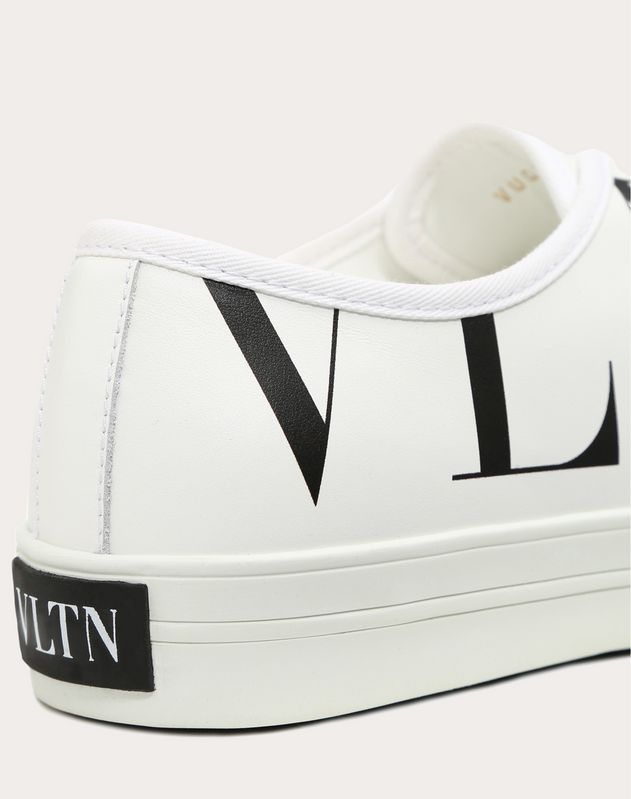 CANVAS SNEAKER WITH VLTN LOGO