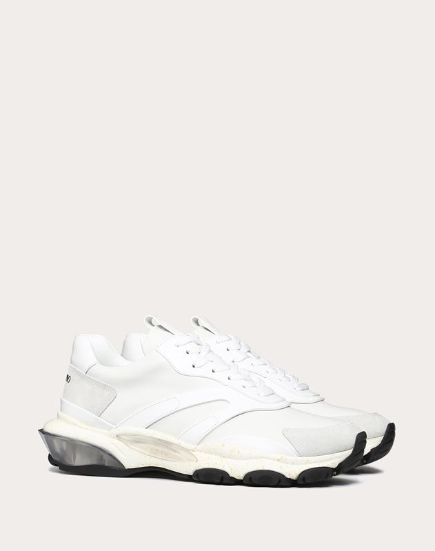 Leather Bounce Sneaker