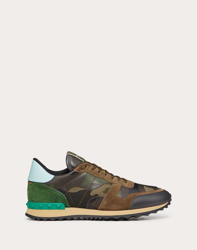 SNEAKERS ROCKRUNNER IN CAMOUFLAGE-OPTIK