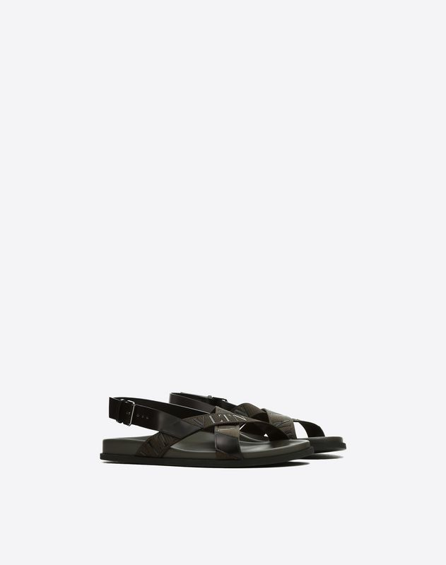 VLTN Leather Sandal