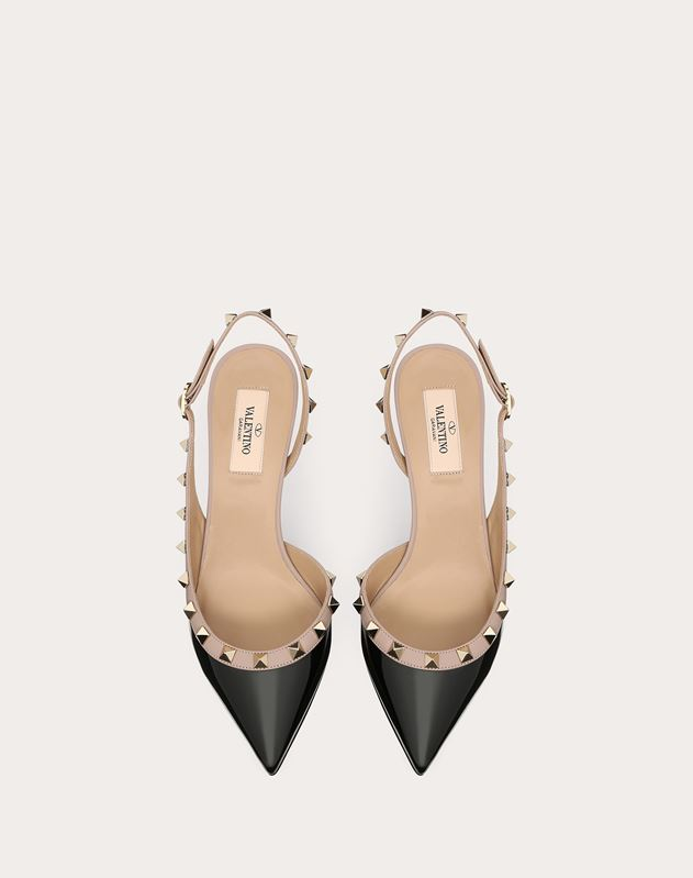 Patent Leather Slingback Pump 50mm