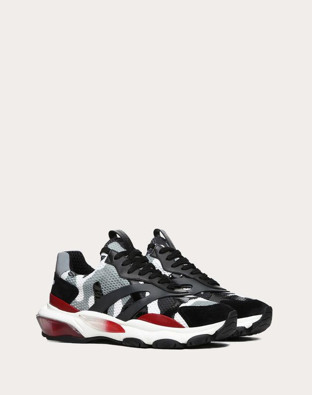 Camouflage Bounce Low-Top Sneaker