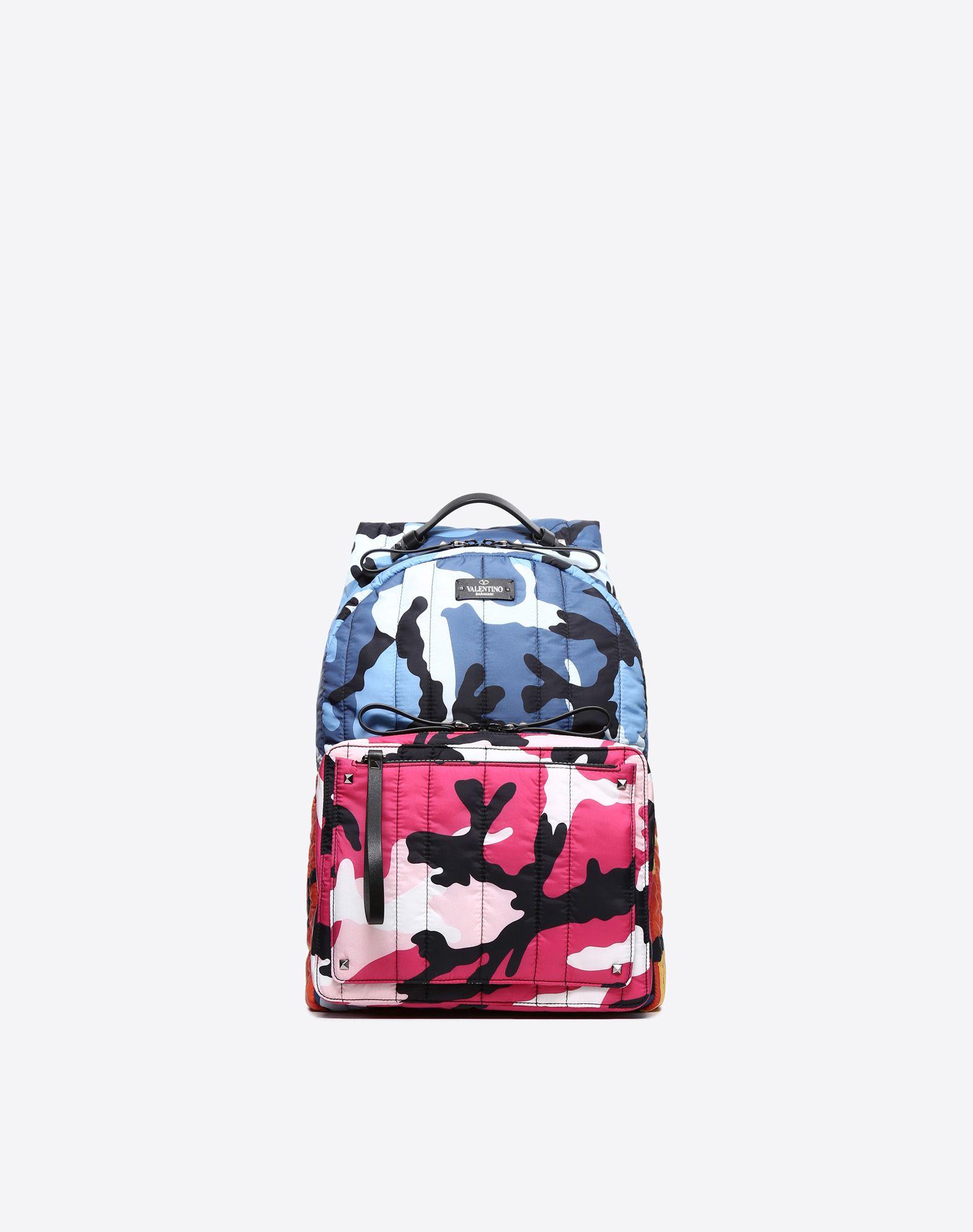 Camoushuffle Nylon Backpack