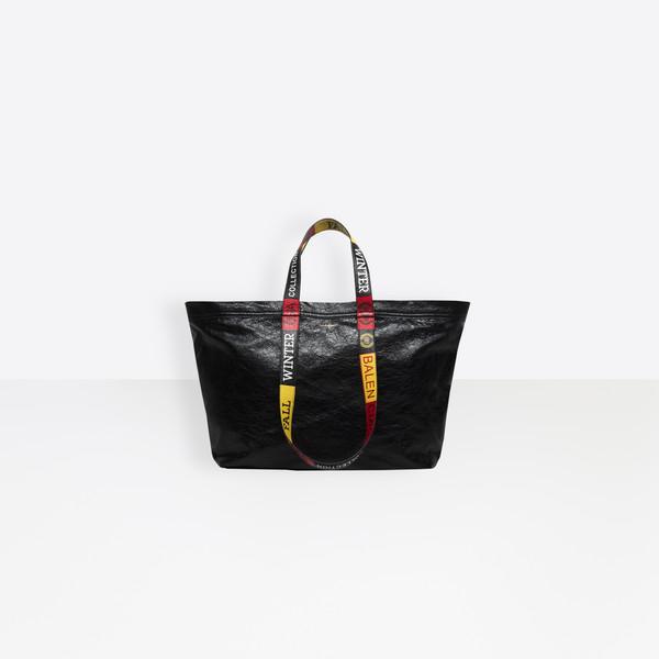 Carry Logo Handles Shopper M