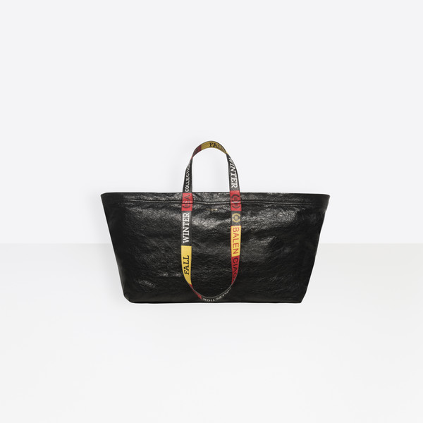 Carry Logo Handles Shopper L