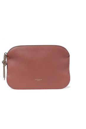 NINA RICCI Elide pebbled-leather pouch