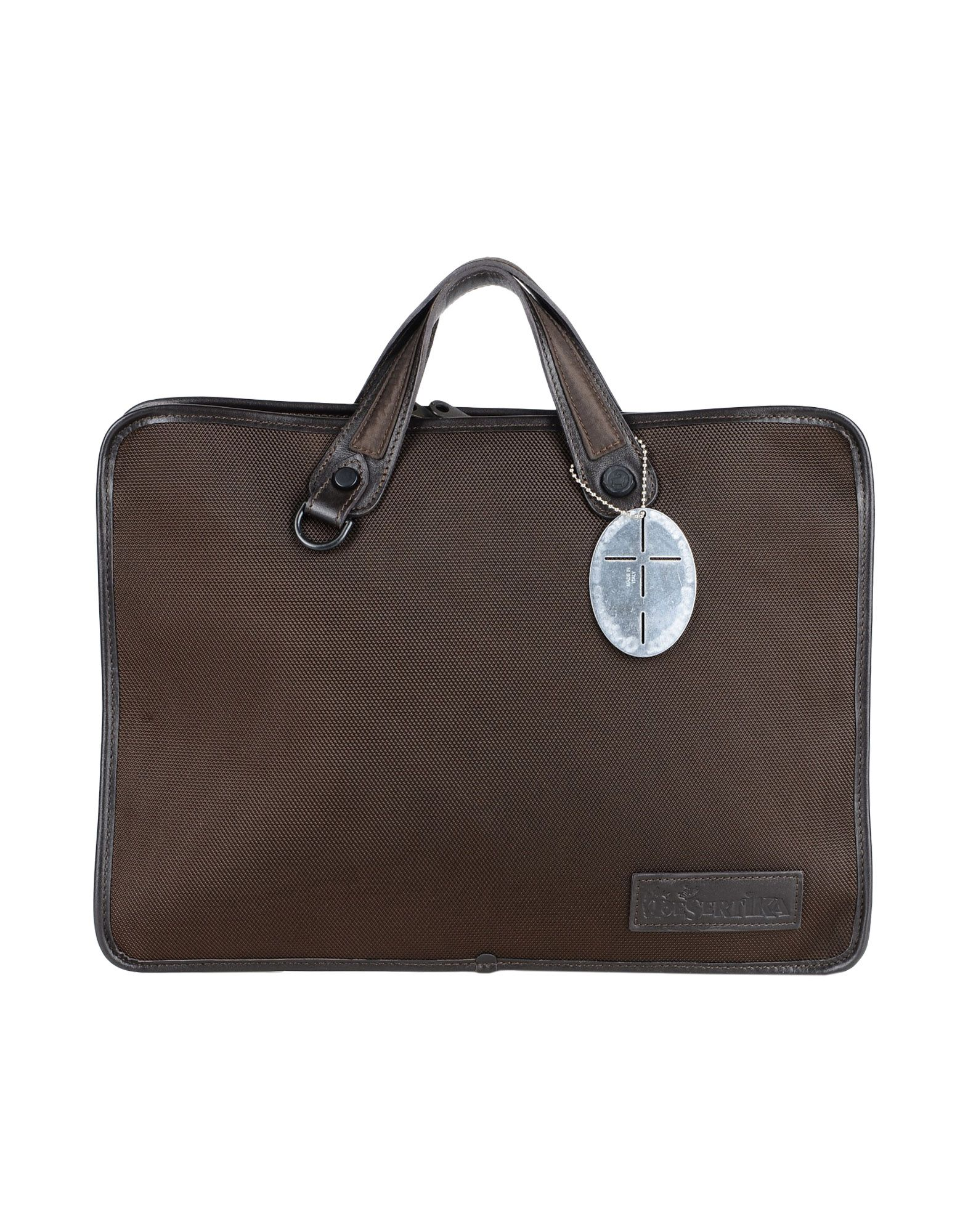 DESERTIKA Work Bag in Dark Brown