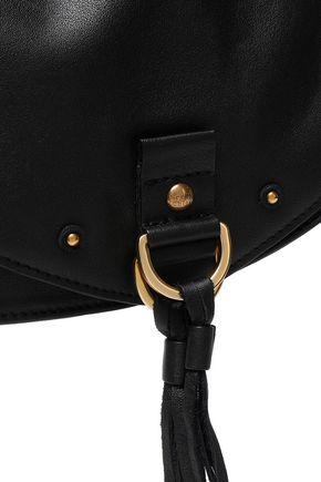 SEE BY CHLOÉ Collins tasseled brushed-leather shoulder bag