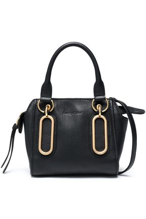 SEE BY CHLOÉ Paige mini pebbled-leather shoulder bag