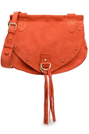 SEE BY CHLOÉ Collins studded suede shoulder bag