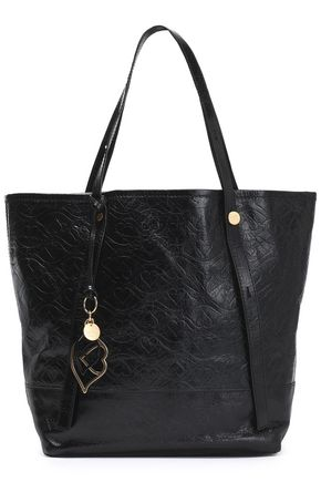 SEE BY CHLOÉ Bisou quilted cracked-leather tote