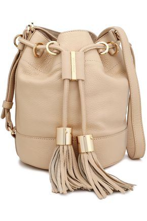 83a0dcd4270a3 Tasseled leather bucket bag | SEE BY CHLOÉ | Sale up to 70% off ...