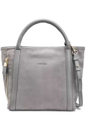 SEE BY CHLOÉ Harriet textured-leather tote