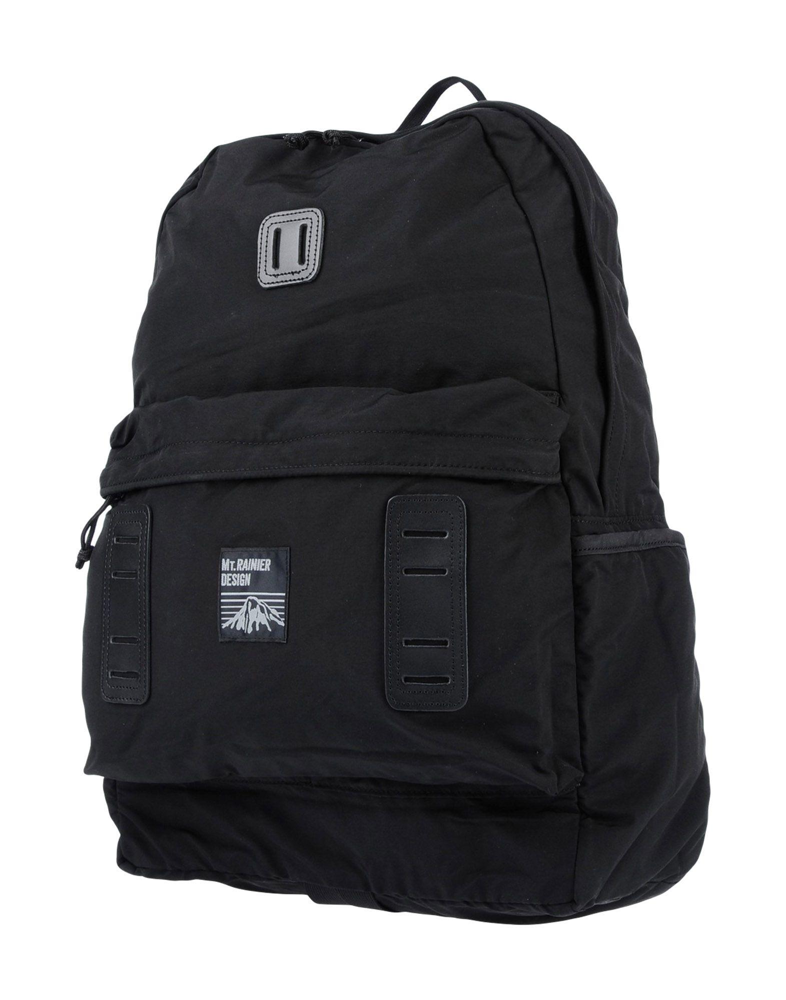 MT. RAINIER DESIGN Backpack & Fanny Pack in Black