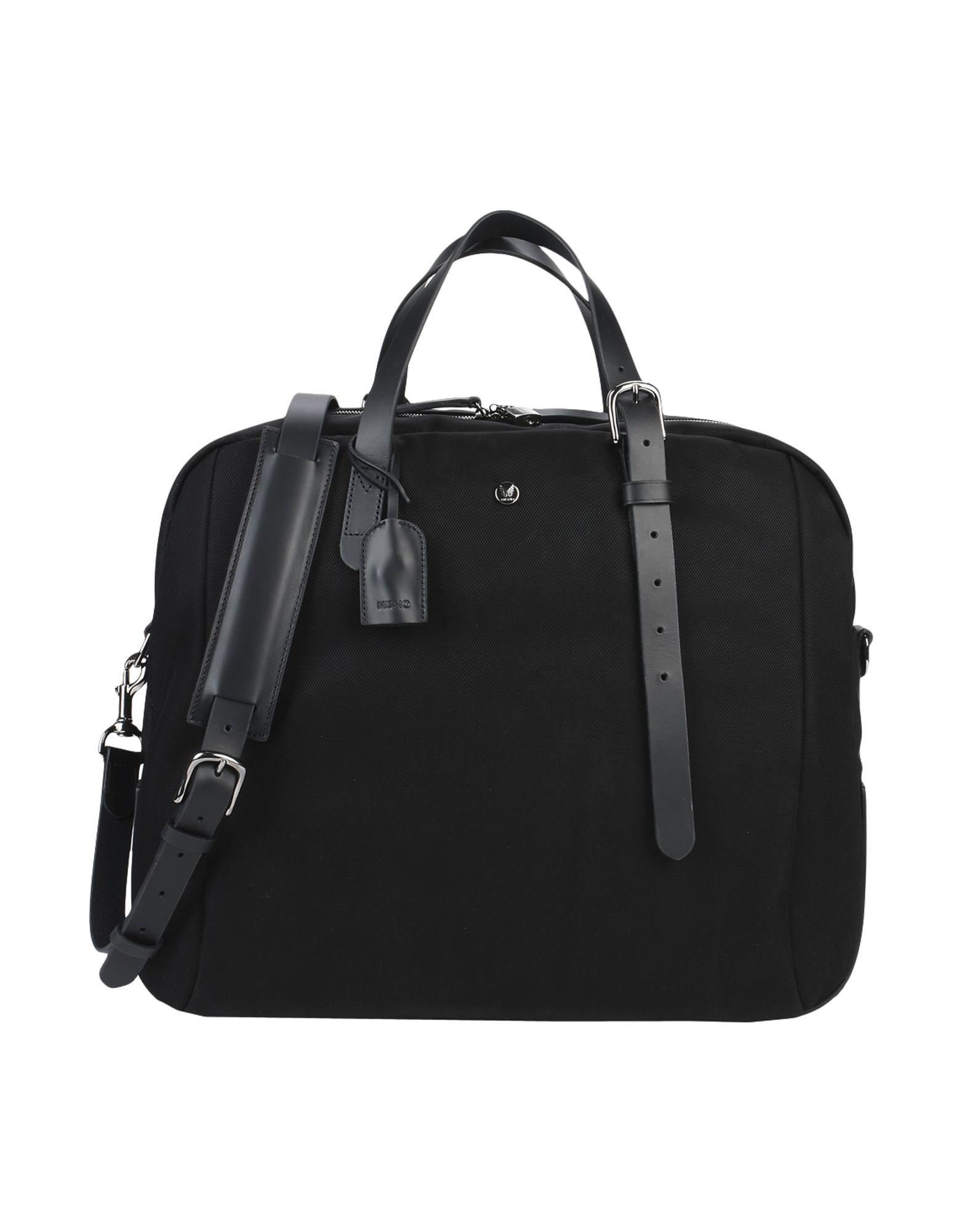 MISMO Travel & Duffel Bags in Black