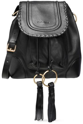 SEE BY CHLOÉ Polly tasseled leather bucket bag