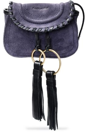 SEE BY CHLOÉ Polly tasseled suede shoulder bag