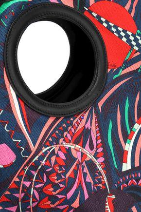 EMILIO PUCCI Printed canvas tote