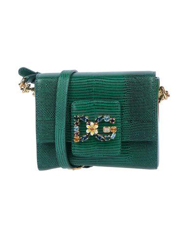 Купить Сумку через плечо темно-зеленого цвета