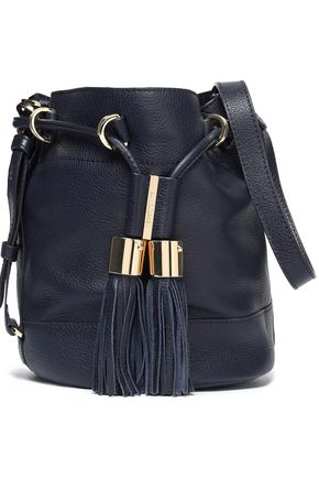 SEE BY CHLOÉ Tasseled leather bucket bag