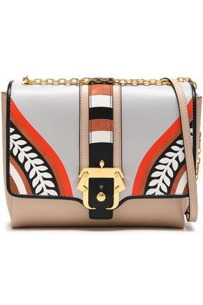PAULA CADEMARTORI Printed leather shoulder bag