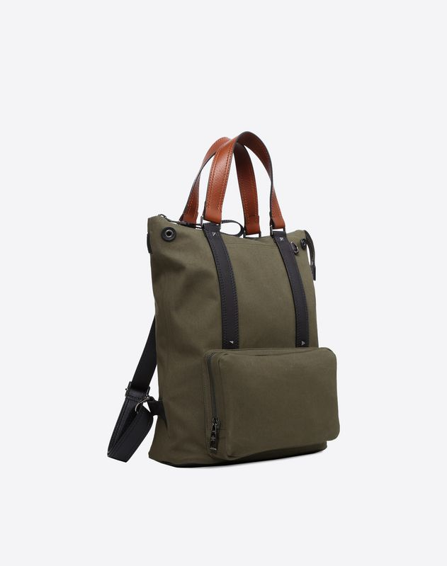 Canvas Backpack Tote