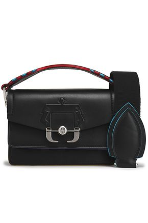 PAULA CADEMARTORI Embossed leather shoulder bag