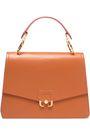 PAULA CADEMARTORI Embossed leather shoulder bag