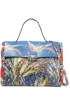 VALENTINO Mime printed leather tote