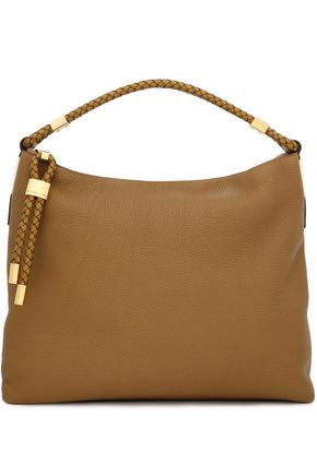 MICHAEL KORS COLLECTION Braided textured-leather shoulder bag