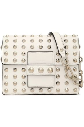 MICHAEL KORS COLLECTION Studded leather shoulder bag