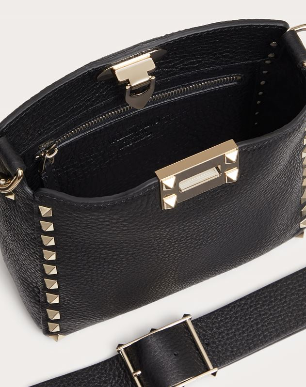 Mini Rockstud Hobo Bag