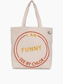 Live tote bag – Funny