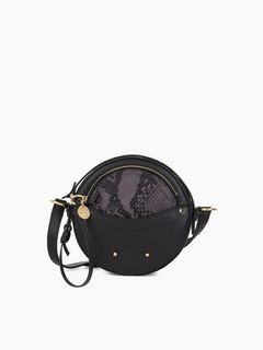 Rosy round shoulder bag
