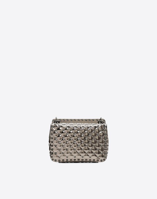 Medium PVC Metallic Spike Bag