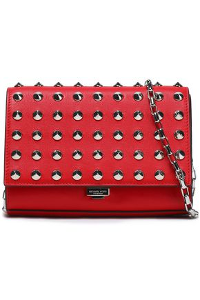MICHAEL KORS COLLECTION Studded leather clutch