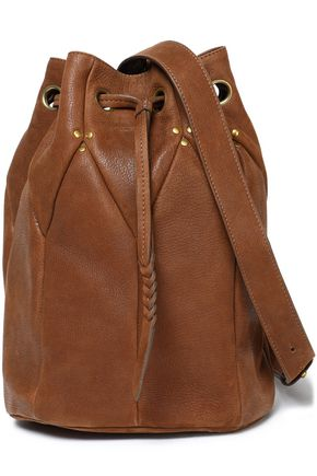 JÉRÔME DREYFUSS Textured-leather bucket bag
